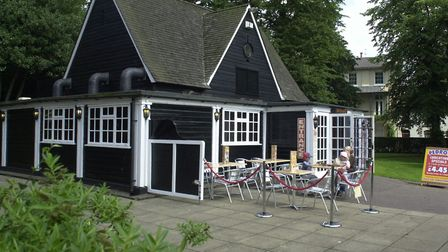 The former Pedro's rerstaurant in Chapelfield Gardens, owned by Norwich City Council but leased to A
