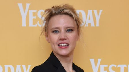 Actor Kate McKinnon at the Gorleston Palace cinema for the local premiere of the film Yesterday. Pic