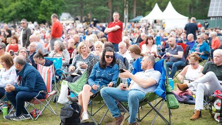 Pictures of the crowd at Paul Weller in Thetford. Photo: Steve Hunt