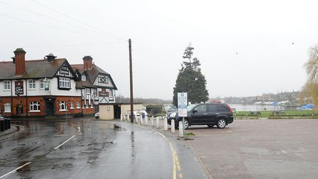 North Norfolk District Council's lease on the car park outside the Swan pub in Horning expires on Fr