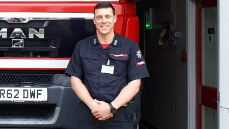 Fire Station manager Stefan Rider has warned people to take care while drinking on boats. Picture: S