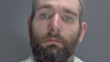 David Pattison who is wanted on recall to prison. Picture; Norfolk Constabulary