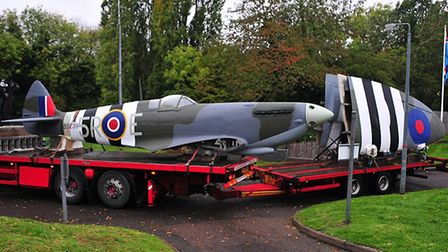 Work on replica spitfires built by Catfield's GB Replicas. Pic: submitted