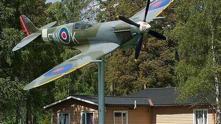 One of the replica planes created by GB Replicas, in Norway. Pic: submitted