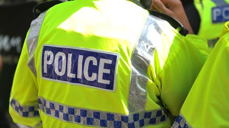 Police were called to an illegal rave at Swaffham Heath in Beachemwell on Saturday night. Photo: Arc