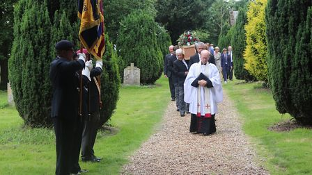 The Israeli ambassador and Lord Dannatt, former head of the British Army, were among mourners at the