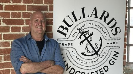 Russell Evans, managing director of Norwich's Bullards, says he never plans to be bored againPicture