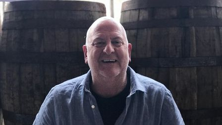 Russell Evans, Bullards managing director, at their distillery on Cattle Market Street. Picture: Ell