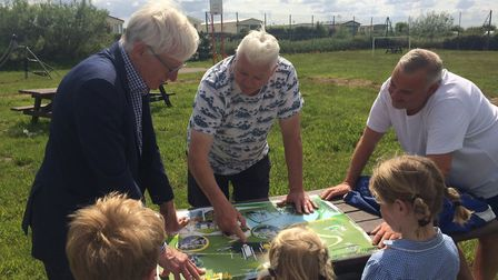 Sea Palling playground will benefit from the latest round of Big Society Fund grants from North Norf