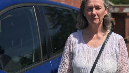 Jane Hammond, from Brundall, who took 17 hours to get back home after she was left stranded on the