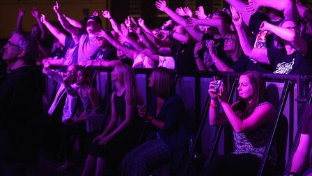 Revellers rock to the Darkness at last year's Festival Too Picture: Ian Burt