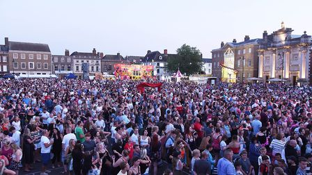 Large crowds are expeted at the market place Picture: Ian Burt