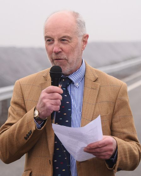 Martin Wilby, Norfolk County Council's cabinet member for transport Picture: DENISE BRADLEY