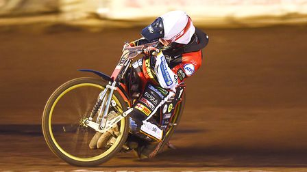 Craig Cook was the top points scorer for King's Lynn Stars in their emphatic win over Belle Vue Pict