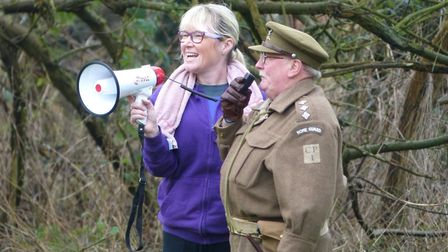 Melanie Sturman in her race director role at Thetford parkrun. Picture: Archant