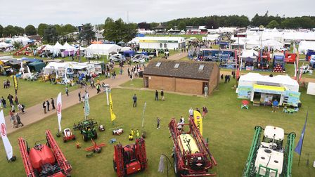 The Royal Norfolk Show 2019View from the top of the Anglian Demolition and Asbestos LTD viewing towe