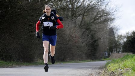 Mandy Foyster is running the Thames Ring 250. Picture: ANTONY KELLY
