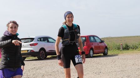 Mandy Foyster in action at the Norfolk 100K. Picture: Morwenna Turner