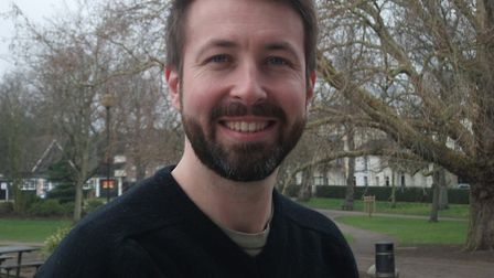 Ben Price, Green Party city councillor for Thorpe Hamlet. Picture: Norwich Greens