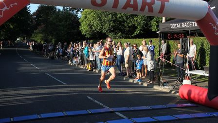 Action from race three of the Wroxham 5K Series. Picture: Total Race Timing
