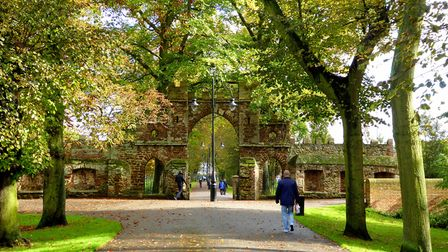 The Avenues and Guannock Gate, The Walks, Kings Lynn. Photo: Jackie Hope