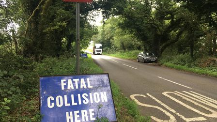 A motorcyclist died in the crash at Felthorpe, at the junction of Reepham Road and Fir Covert Road.
