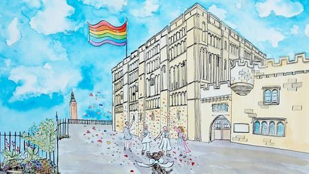 Queer tours of Norwich Castle Credit: Eloise O'Hare