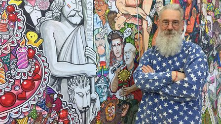 David Shenton is running a Knitting Coming Out Story at The Forum Credit: Supplied by Norwich Pride