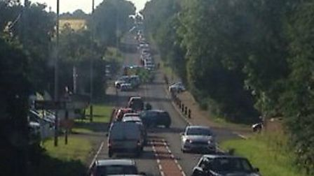 Police were called to the scene at about 5.50pm on Friday, June 28, to reports of a crash between tw