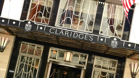 The Claridge's Hotel in London where Harry Kirkpatrick catered for the Queen. Picture: PA Archive/Ia