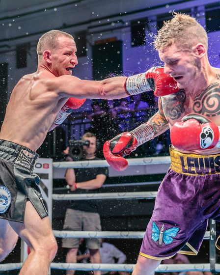 Ryan Walsh in action against Lewis Paulin Picture: Mark Hewlett Photography