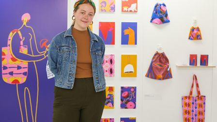 Louise Fitzgerald is graduating from Norwich University of the Arts' illustration course. Her collec
