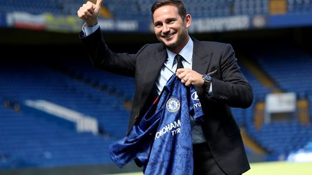 Thumbs-up from Chelsea's new manager Frank Lampard Picture: PA