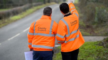 Full fibre broadband could be coming to 20 villages around Diss and Thetford. Picture: County Broadb