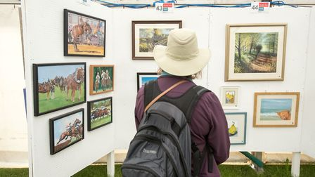 Over 350 artworks are on display at the Art Gallery, offering something to suit every taste Pictu