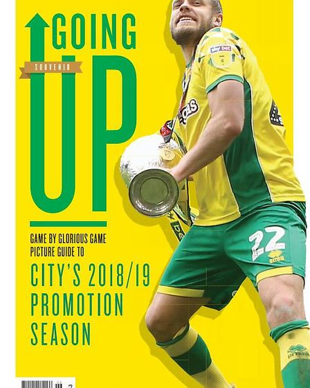 Pick up a copy of Going Up! magazine - a celebration of Norwich City's magnificent promotion season