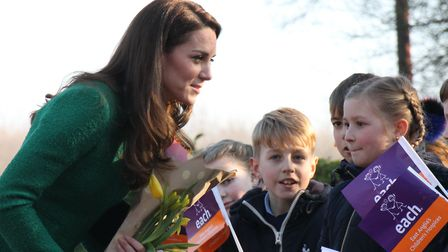 East Anglia's Children's Hospices royal patron Duchess of Cambridge. Picture: EACH