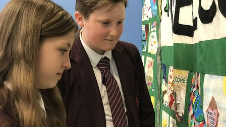 Students at Hellesdon High School are among 57 Norfolk schools taking part in 'Norfolk Welcomes' on