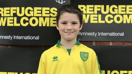 Year four student Elliott from Avenue Junior School, one of the schools who have taken part in the N