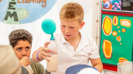 The Discovery Zone links STEM subjects with food, farming and the countryside in a hands-on and inte