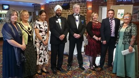 35 years of the Swaffham and District Lions was celebrated with a dinner and dance at Knights Hill B