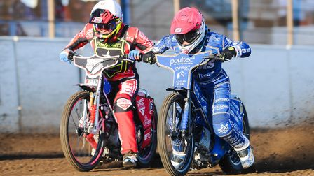 Lewis Kerr charges out of the gate. Picture: Ian Burt