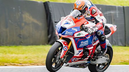 Ryan Vickers crashed out in free practice at Brands Hatch Picture: Barry Clay