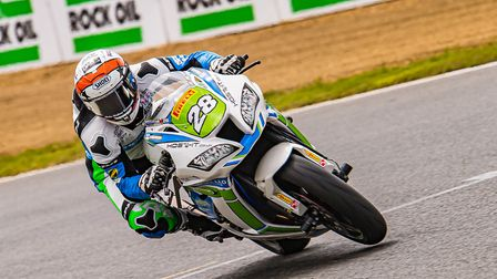 Tim Neave had an 18th and a DNF at Brands Hatch Picture: Barry Clay