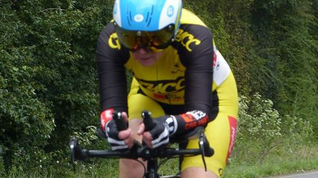 Jenny Anderson in acrtion at the Godric CC 10 Picture: Fergus Muir