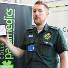 Anthony Brett, safety and risk lead at EEAST with the GoodSAM app. Photo: EEAST
