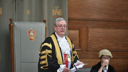 David Fullman was Lord Mayor of Norwich Picture: Sonya Duncan