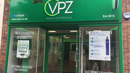 The new VPZ store in Lowestoft town centre, which is set to open on Friday, June 21, as it aids loca