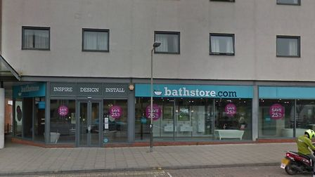 The Bathstore in Norwich's Queen's Road. Picture: GoogleMaps/Archant