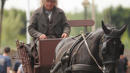 The filming of David Copperfield is taking place at The Purfleet in King's Lynn. Picture: Ian Burt